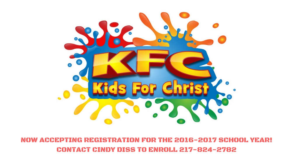 Now accepting registration for the 2016-2017 school year!Contact Cindy Diss to enroll 217-824-2782